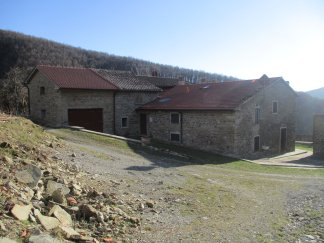 Back view of Ca' di Vagnella
