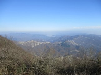 Amazing View going to Vagnella
